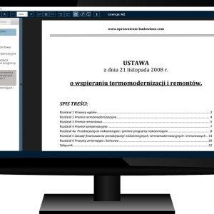 Uprawnienia Budowlane Akty Prawne Komputer 10