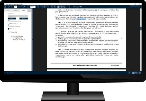 Uprawnienia Budowlane Akty Prawne Komputer 11
