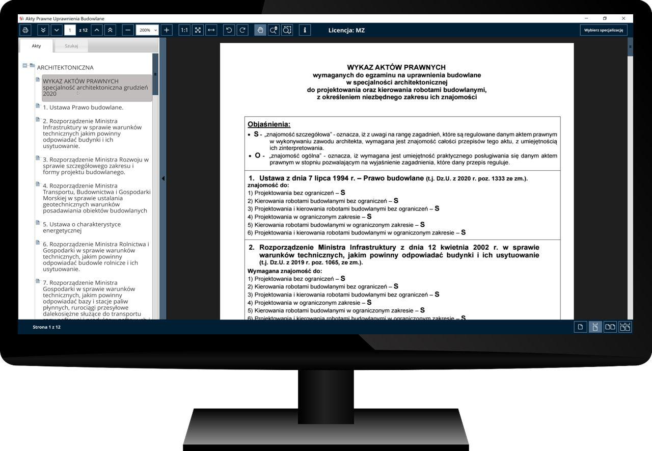 Uprawnienia Budowlane Akty Prawne Komputer 15