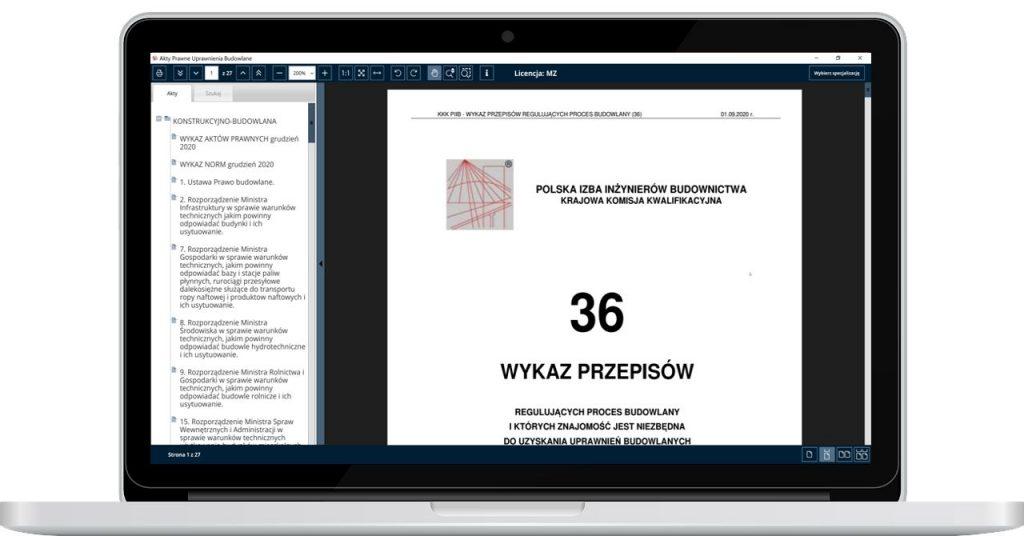 Uprawnienia Budowlane Akty Prawne Komputer 16