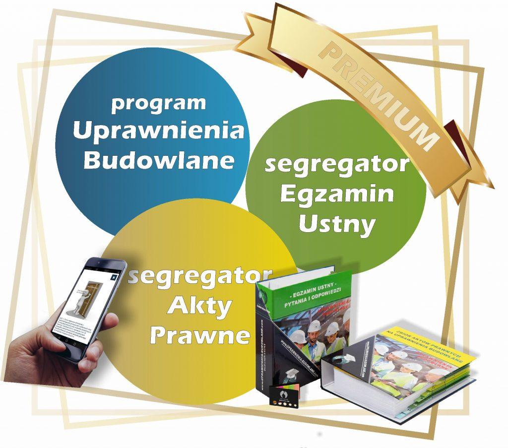 pakiet uprawnienia budowlane premium