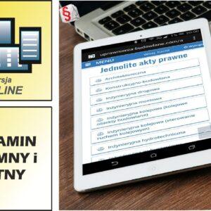uprawnienia budowlane akty prawne on-line_cennik