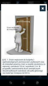 uprawnienia budowlane drzwi wymiary